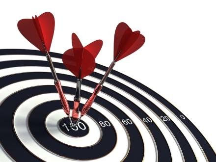 bigstock-Success-target-16976363