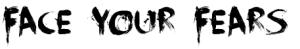 horror font